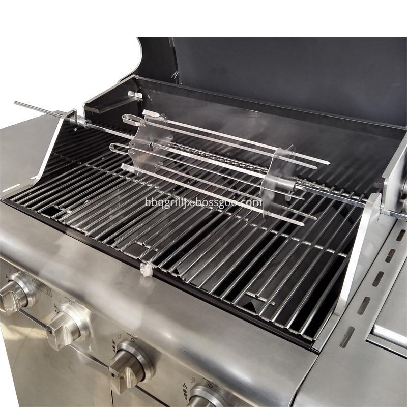 Stainless Steel Bbq Rotisserie Kebab