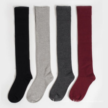 Women′s Girls Lady′s Tube Knee-High Cotton Stockings Socks (TA214)