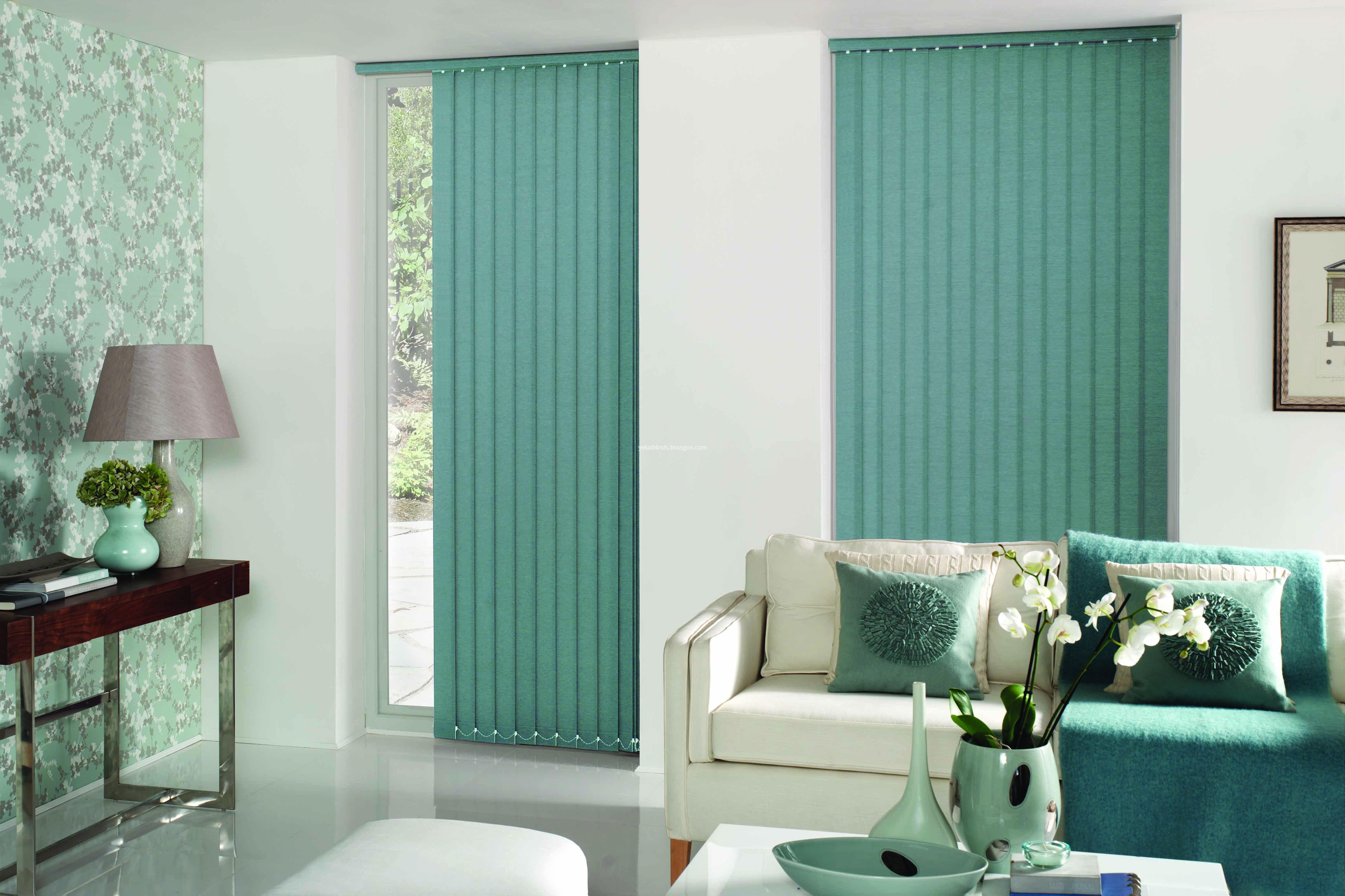 Green-vertical blinds4-M
