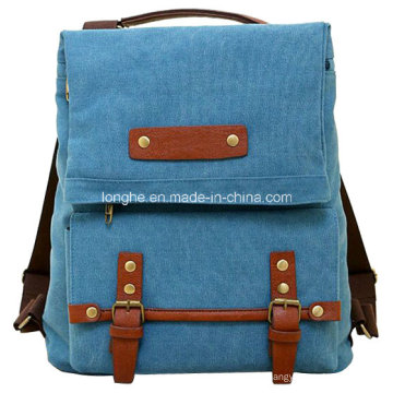 New Arrival Portable Denim Fabric Canvas Backpack (ZXS0020)