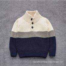 camisola dos meninos do estilo da venda quente coreana e ocidental / camisola do algodão para crianças do bebê