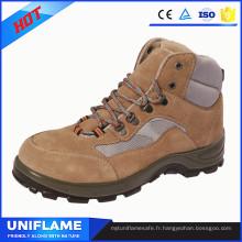 Chaussures en acier de sécurité de chapeau d'orteil de marque, chaussures de travail des hommes Ufa099