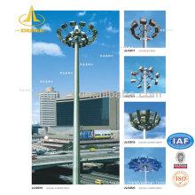 Poteaux à lumière galvanisée