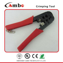 China fabricante best price Alicates de crimpado Cat 5e cat6 Herramientas de red para 4P 6P 8C