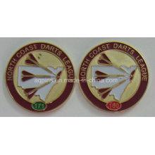 Insignia de metal por encargo del fabricante profesional para League (badge-210)