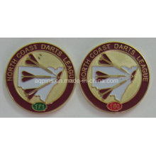 Badge en métal fait sur commande professionnel de fabricant pour la ligue (insigne-210)