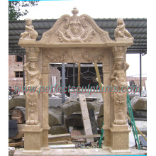 Stone Marble Granite Arch Doorway for Archway Door Surrounding (DR036)