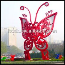 Sculpture en papillon en acier inoxydable VSSSP-102L