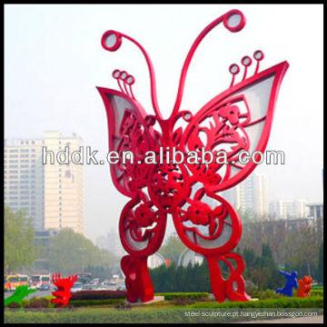 Escultura em inox de borboleta VSSSP-102L