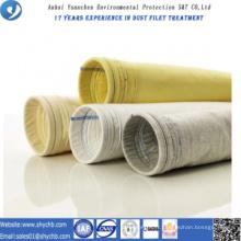PPS non-tissé de collecteur de poussière et sac filtrant composé de P84 pour l'usine d'asphalte