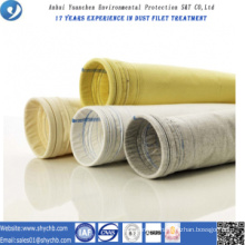 Dust Collector Nonwoven PPS and P84 Compound Filter Bag for Asphalt Plant