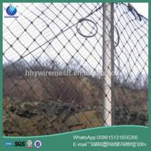 red de protección contra la caída de rocas malla de protección de la ladera malla de barrera