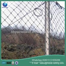 rockfall netting factory slope protection mesh netting rock barrier mesh
