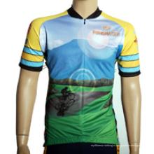 Пользовательские сублимации спорта Велоспорт одежда для мальчика и девочки