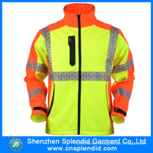 Winter Men High Visibility Workwear Safety Reflective Jackets for Motorcycle