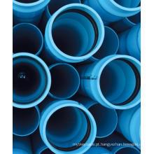 Tubulação de tubo UPVC / CPVC / PVC que faz a linha máquina de extrusão