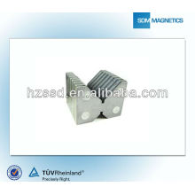 Strong power rare earth industrial magnetic v block