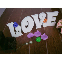 PVC Love Letters Home Decoration Sign with Coat and Hat Hook