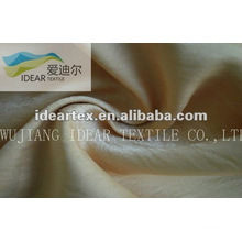 Shiny Golden Yellow Satin Fabric for Lady Dress