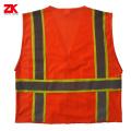 Ткань сетки высокого видимого одежда безопасности