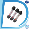 Lzs Acrylic Tube Type Ss316L Guide Rod Flow Meter Rotameter