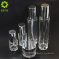Cosmetic packaging bottle empty make lotion foundation pump glass bottle 30ml