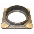 Fundición de acero de aleación de precisión para piezas de trenes