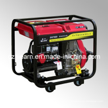 Air-Cooled Open Frame Type Diesel Generator Recoil Start (DG7000)