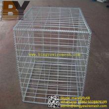 Caja de Gavión de cesta de alambre de acero inoxidable