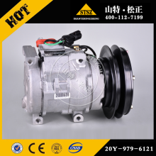 PC300-7 PC200-7 genuine pièces de rechange 20Y-979-6121 COMPRESSOR ASS'Y
