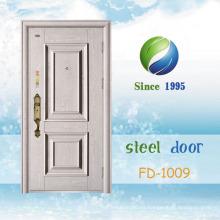 China El más nuevo desarrolla y diseña la sola puerta de seguridad de acero (FD-1009)