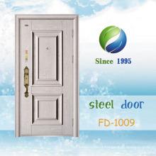 China mais recente desenvolver e projetar porta de segurança de aço único (FD-1009)