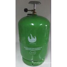 Cylindre de gaz LPG et réservoir de gaz en acier (5kg)