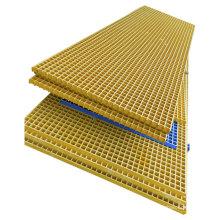 molded frp grp fiberglass mesh flat grating