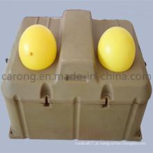 Gado de congelação automática do dígito dobro do equipamento agrícola do gado