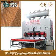 Puerta de piel de ciclo corto de melamina papel de prensa caliente