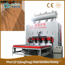 Door Skin Short Cycle Melamine Paper Hot Press Machine