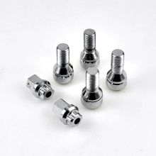 4PCS/Set Wheel Lug Bolt with 2 Keys