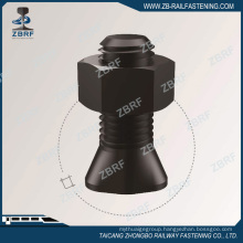 Clip bolt with hex nut for Crane rail