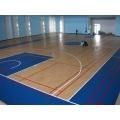 Suelo de PVC Apperance de madera para baloncesto