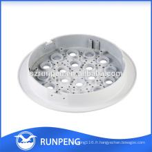 Logement de lampe de moulage mécanique sous pression d'alliage d'aluminium de LED