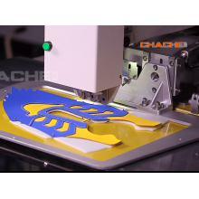Sneaker hole punching machine