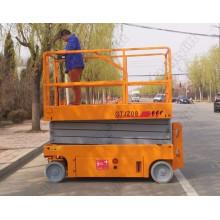 7.65m hydraulische mobile Schere Hebebühne mit Eigenantrieb