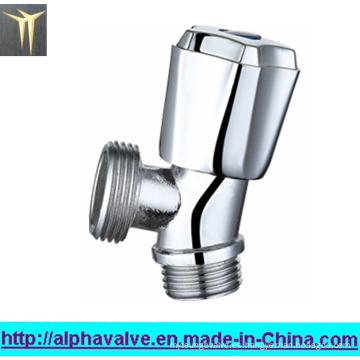 Válvula de ángulo de latón forjado cromado (0205)