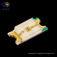 Diode électroluminescente superbe de SMD / SMT LED de blanc de bâti de la surface 0603 SMD LED