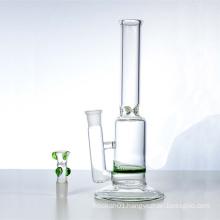 Single Green Honeycomb Water Hookah Glass Smoking Water Pipes (ES-GB-322)