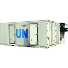 Двухтемпературный рефрижераторный контейнер