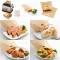 Тефлоновые пакеты с тефлоновым покрытием Non-sticky Toast пакеты многоразовые 100 раз делают идеальный поджаренный сэндвич