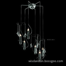 Hot-selling crystal candle chandelier light