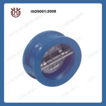 wafer double disc check valve